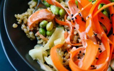 Marco's verantwoorde Veganistische Sushi Bowl